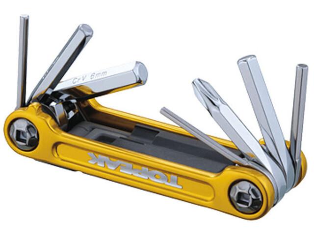 Topeak Mini 9 Pro Miniværktøj gold